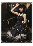 Yinluofu -Pirate Ship- Punk Gothic Lolita JSK Set