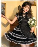Yinluofu - Elegant Qi Lolita OP Dress