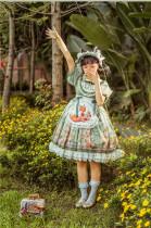 Kiyana -The Fox Home- Sweet Lolita OP Full Set