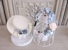 Alice Girl -Afternoon Memory- Lolita Hat and Rosette Headwear