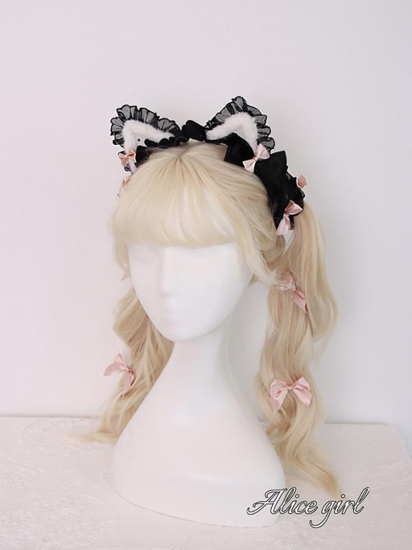 Alice Girl -Little Cat- Sweet Lolita Cat Headwear and Tail