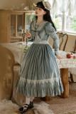 Alice Girl -Afternoon Memory- Long Sleeve Classic Lolita OP Dress