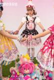 Chemical Romance -Happy Birthday- Sweet Lolita Salopettes