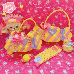 Ship Puff - Sweet Candy Lolita Crossbody Shoulder Handbag