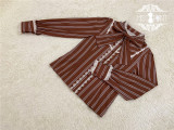 Miss Point -Chocolate Weekly Newspaper- Classic Casual Lolita Blouse