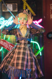 Fantastic Wind -Imaginary Girl- Classic Lolita JSK and Blouse