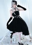 Magic Chess Halloween Gothic Casual Lolita JSK