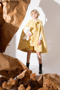 Princess Chronicles -Little Tiger 2.0- Ouji Lolita Cape and Shorts