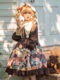 Brocade Garden -Christmas Bear- Sweet Lolita OP Dress