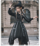 Yinluofu -Cat Eyes- Halloween Gothic Lolita OP Dress