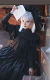 The Liliana Sisters - Classic Vintage Doll Lolita OP Dress(Long Version)