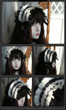 The Liliana Sisters - Classic Vintage Doll Lolita Corset and Headband