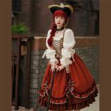 Withpuji -Juliet- Classic Vintage Lolita OP Dress