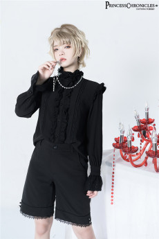Princess Chronicles -The Prince- Ouji Boystyle Lolita Blouse and Shorts