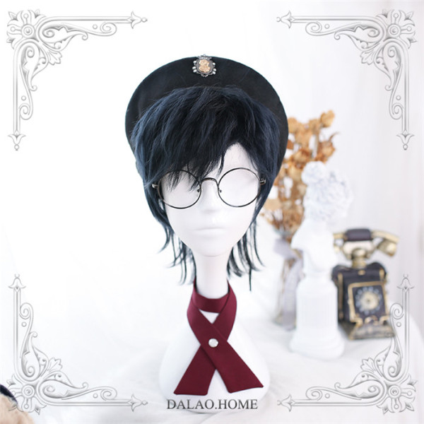 Dalao -Matured Poison- Ouji Boystyle Short Lolita Wig