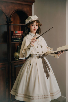Chapter of Mist Classic Lolita Blouse, Skirt and Cape Set