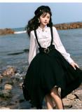 Tomorrow Pledge Ouji Military Lolita Skirt, Jacket and Blouse Set