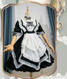 Bramble Rose -Miss Peach Detective Book- Sweet Lolita OP Full Set