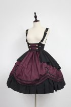 Neverland -Morningstar Idol Academy- Sweet Lolita High Waist Salopettes