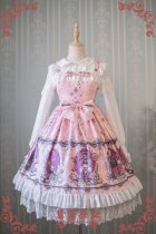 Strawberry Witch -Dream of Alice- Sweet Lolita JSK Jumper Skirt Dresses