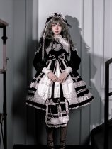 Sweety Honey -lovely Elva Doll- Sweet Lolita OP One Piece Dress