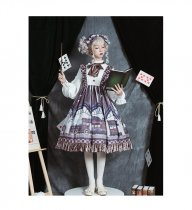 Cat Can -Magic Station- Lolita One Piece Dress