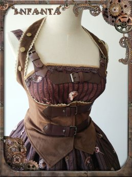Infanta -Mechanical Puppets- Punk Lolita Corset