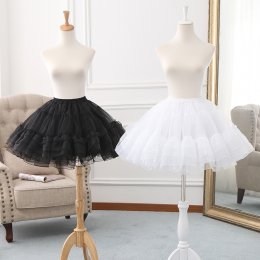 A-line Shaped 43cm Long Puffy Lolita Petticoat
