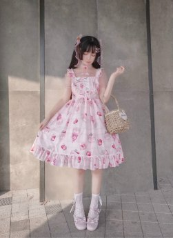 Diamond Star - Sweet Casual Lolita JSK Jumper Dress