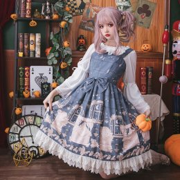 Eieyomi -Miss Pea- Sweet Lolita JSK Jumper Dress
