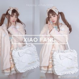 Whale Fall - Square Shaped Sweet Lolita Shoulder Bag(Backpack Avaliable)
