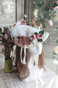Miss Point -The Poem of Rose- Lolita Headdress