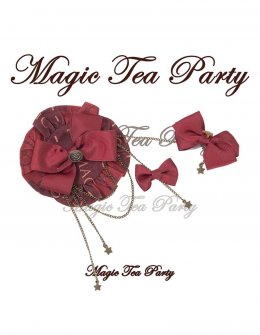 Magic Tea Party -Mechanical Time- Classic Lolita Hairclips