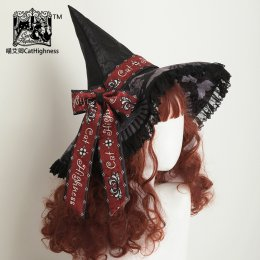 CatHighness -The Shape of Witch- Lolita Headdress