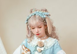 Pennyhouse -Mr Rabbit- Lolita Headband and Hairclip