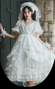Swan Lake Gothic Lolita Full Set