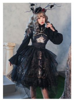 Yinluofu -God Redemption- Gothic Lolita Accessories
