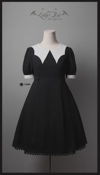 Your Gift -Little Bat- Casual Gothic Lolita OP Dress