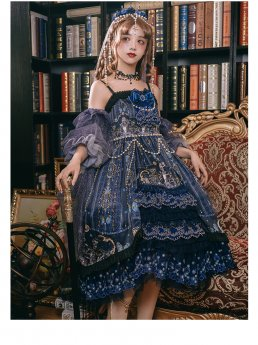 Yinluofu -Dead Butterfly Allegretto- Lolita Accessory Set