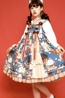 Fortune Cat Wa Lolita A Shape JSK