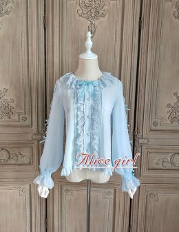 Alice girl -Cat Tea Party- Lolita Blouse