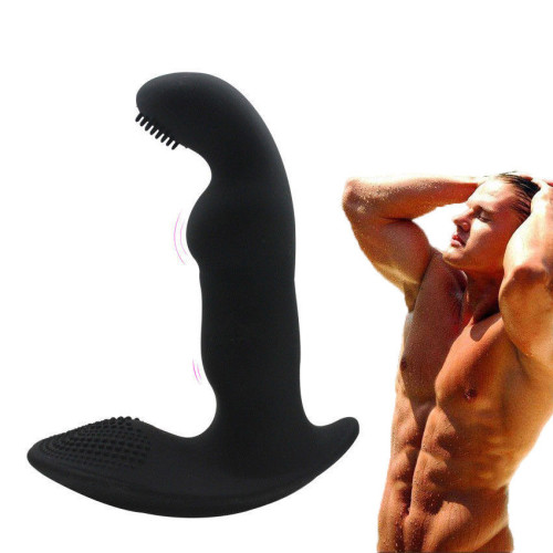 Waterproof Silicone Male Prostate Massager