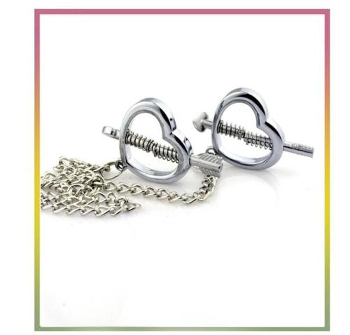 Bit love, love god metal adjustable sex nipple clip