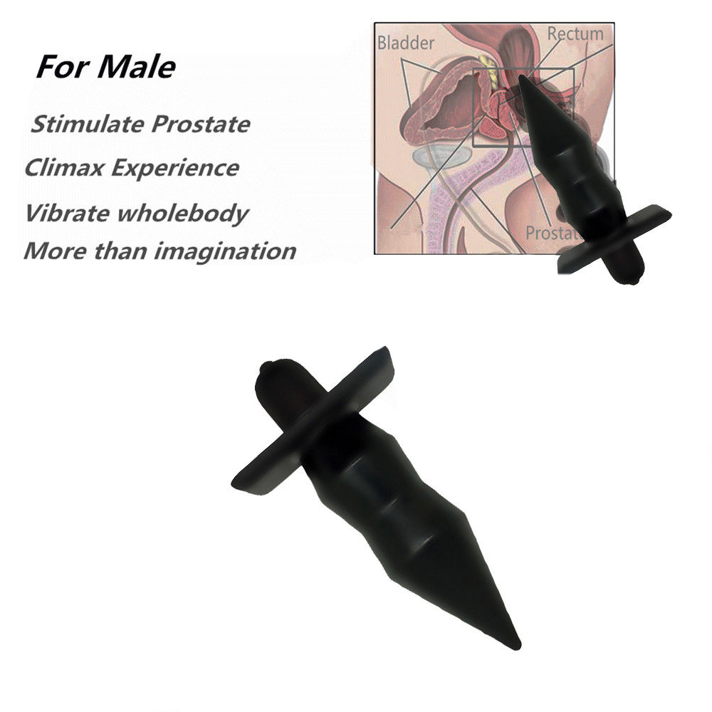 Silicone Butt Plug 10 Speed Anal Plug G-Spot Massager