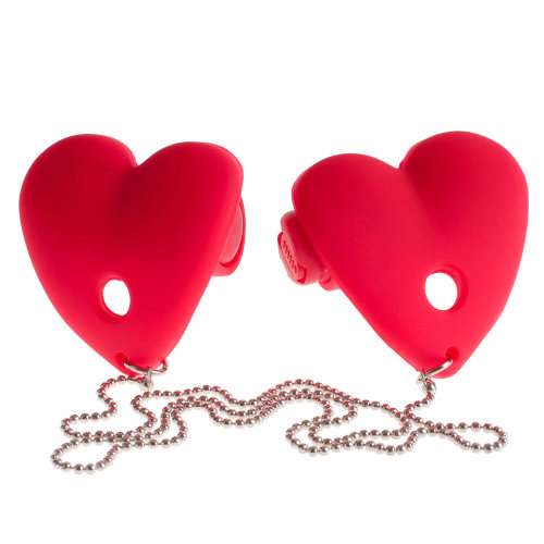 Fetish Fantasy Series Vibrating Heart Pasties