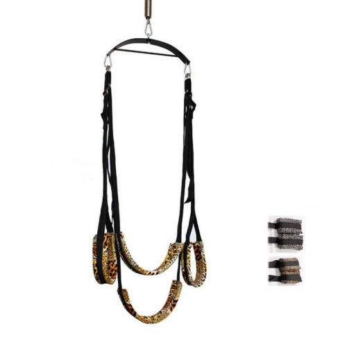 Door Sex Swing Couple Love Hanging Bondage Restraints Set Kit Leg Slave Spreader