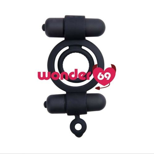 Vibrating Cock Ring Penis Ring Silicone Last Longer Pleasure Adult Sex Toys