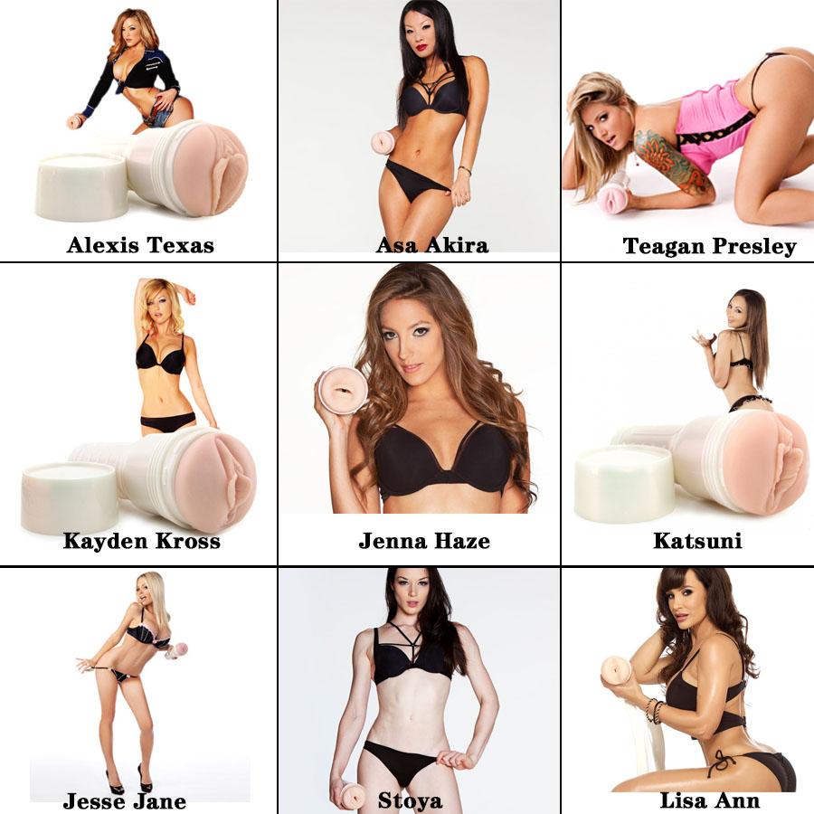 Fleshlight Girls Men Masturbator Realistic Vagina Sex Toys