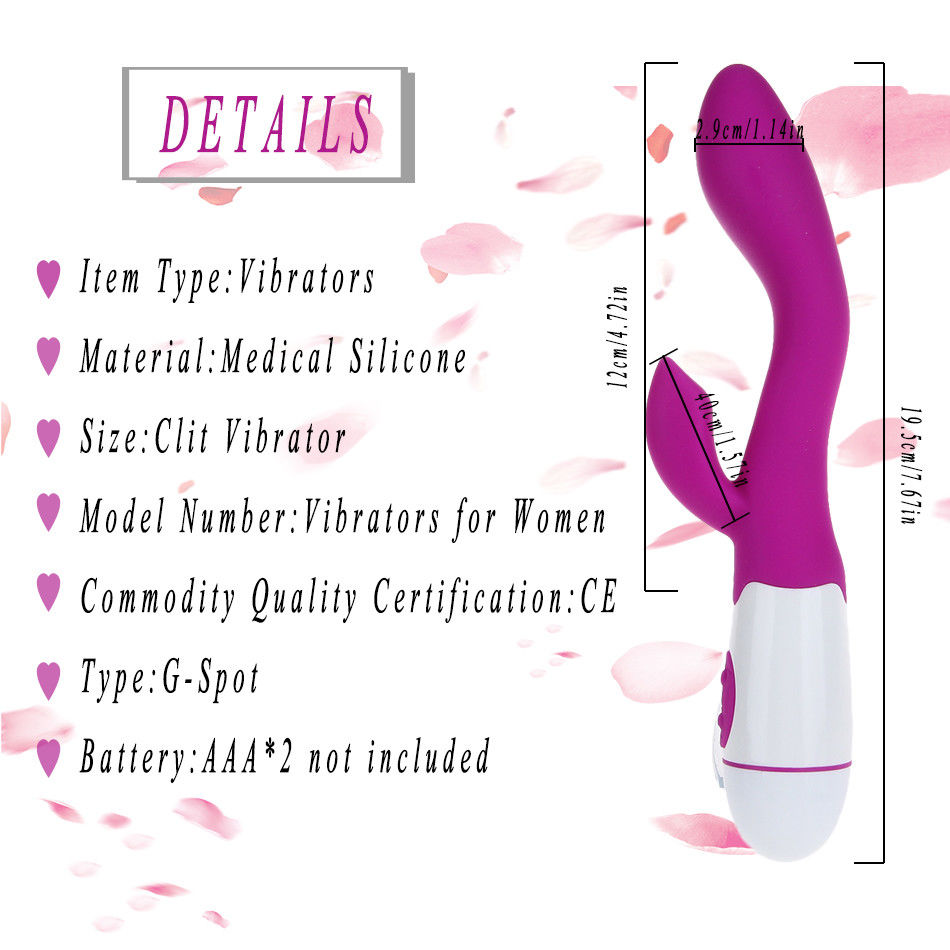 Vibrating Rampant Rabbit Vibrator 30 Speed Dildo