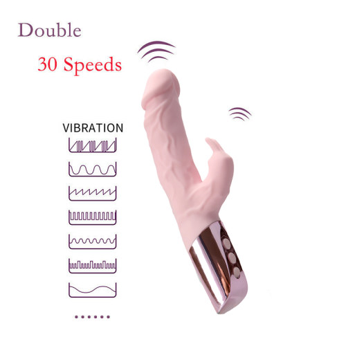 30 Speed Rampant Rabbit Vibrator Vibrating Dildo